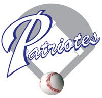 Logo de l'Association de baseball mineur (Patriotes)