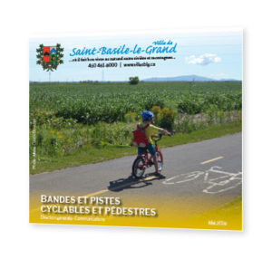 Photo de la couverture - Carte vélo 2018