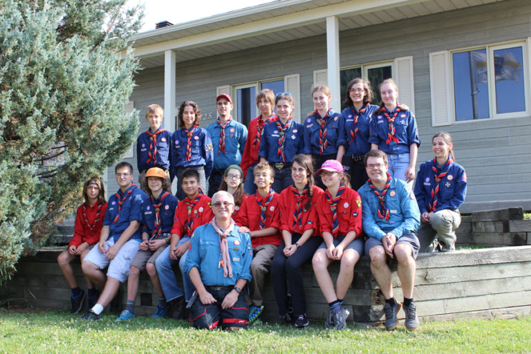 Groupe scout • Photo: Édouard Champigny